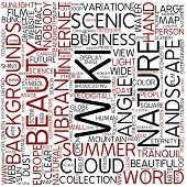 Word cloud - wiki