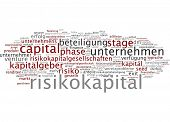 Word cloud- Venture capital