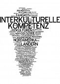 Word cloud - intercultural competence