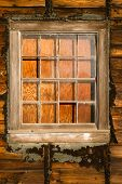 Run Down Ruin Boarded Up House Plywood Window Panes