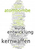 Word cloud - nuclear weapon