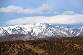 The La Plata mountains...