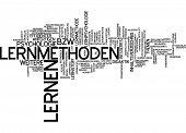 Word cloud - learning method