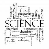 foto of criminology  - Science Word Cloud Concept in black and white with great terms such as biology earth ecology natural and more - JPG