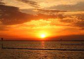 Sunset Over Lake Pontchartrain