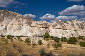 Spotty Rocks In Cappadocia
