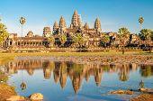 View At The Angkor Wat