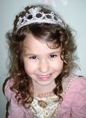 foto of toddlers tiaras  - laughing princess - JPG