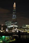 London Shard Night