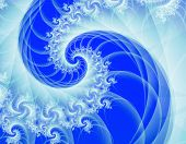 Ice Blue Waves