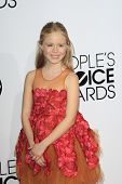 LOS ANGELES - JAN 8:  Loreto Peralta at the People's Choice Awards 2014 Arrivals at Nokia Theater at