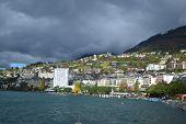 View Of Montreux, Switzerland