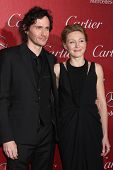 PALM SPRINGS - JAN 4:  Christian Camargo, Juliet Rylance at the Palm Springs Film Festival Gala at P