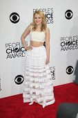 LOS ANGELES - JAN 8:  Taylor Spreitler at the People's Choice Awards 2014 Arrivals at Nokia Theater