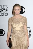 LOS ANGELES - JAN 8:  Greer Grammer at the People's Choice Awards 2014 Arrivals at Nokia Theater at
