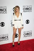 LOS ANGELES - JAN 8:  Cassie Scerbo at the People's Choice Awards 2014 Arrivals at Nokia Theater at