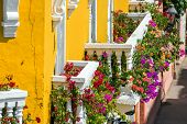 Colorful Balconies