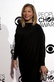 LOS ANGELES - JAN 8:  Queen Latifah at the People's Choice Awards 2014 Arrivals at Nokia Theater at