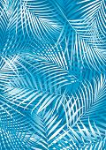 Blue Palm Leaves.eps