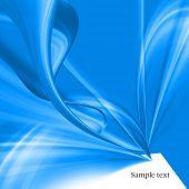 Textura de fundo abstrato fantasia azul