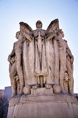 Winged War God George Gordon Memorial Civil War Statue Pennsylvania Ave Washington Dc