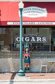 MIAMI,USA - MAY 19,2014 : Handmade cigar factory in Little Havana, Miami
