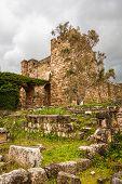 Byblos Castle Ruins Lebanon