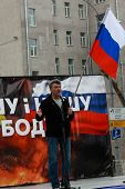 Boris Nemtsov On The Peace March In Support Of Ukraine