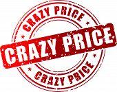 Vector Crazy Price Stamp