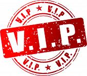 Vector Vip Stamp