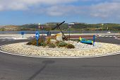 Newly Created Roundabout In Gruissan