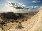 Cliffs On The Plateau Shalkar-nura