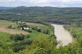 Farmland by the river