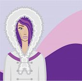 picture of eskimos  - eskimo vector illustration clip - JPG