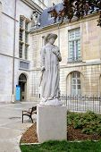 Statue of Philip the Good (Philippe le Bon) in the Palace of Dukes and Estates of Burgundy. Dijon, F