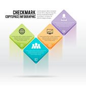 Checkmark Copyspace Infographic