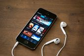 Itunes Application On Apple Iphone 5S
