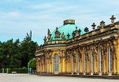 German castle Sanssouci, Potsdam, near Berlin