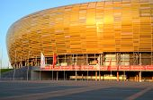 PGE Arena Stadium on June 6, 2014 in Gdansk, Poland