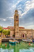 Church Of San Nicolo', Lazise, Lake Garda, Italy