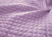 Quilted Purple Fabric