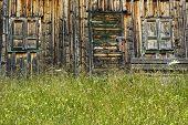 Passo Pordoi, Dolomites: Wooden Hut