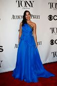 NEW YORK-JUNE 8: Actress Courtney Reed attends American Theatre Wing's 68th Annual Tony Awards at Ra