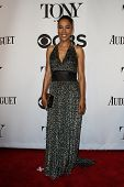 NEW YORK-JUNE 8: Actress Sophie Okonedo attends American Theatre Wing's 68th Annual Tony Awards at R