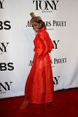 NEW YORK-JUNE 8: Actress Adriane Lenox attends American Theatre Wing's 68th Annual Tony Awards at Ra