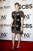 NEW YORK-JUNE 8: Actress Kate Mara attends American Theatre Wing's 68th Annual Tony Awards at Radio