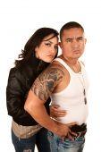Tought Hispanic Couple