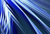 Fun bright geometric abstract background, contrast and dynamic, in blue tones