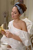 Portrait With Banana