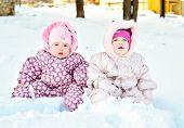 Babies In Snow